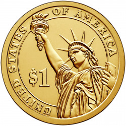 Moneda conmemorativa SC 1 Dólar Estados Unidos Presidente Bush Año 2020 Sin circular | Monedas de colección - Alotcoins