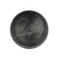 Gedenkmünze 2 Euro Lettland 30 Jahre EU-Flagge Jahr 2015 Unzirkuliert UNZ | Sammlermünzen - Alotcoins