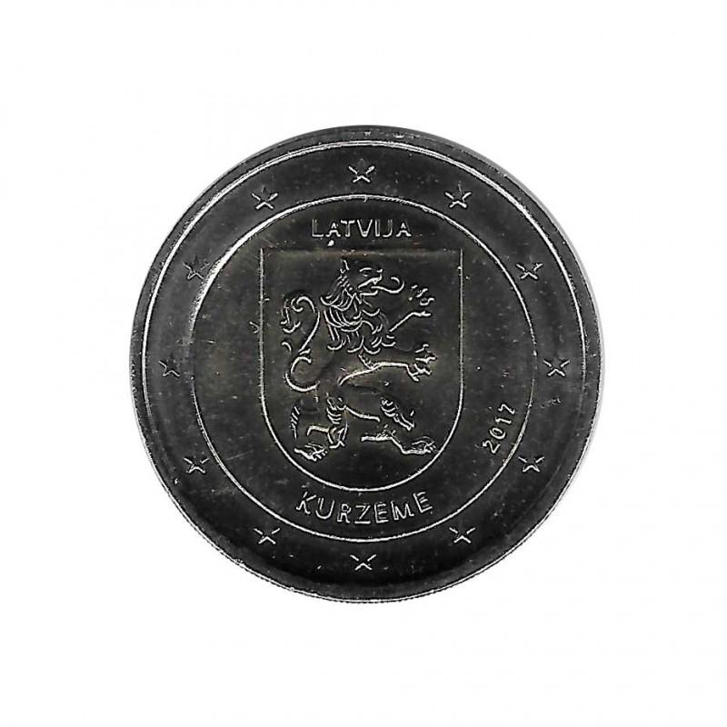 Moneda 2 Euros Conmemorativa Letonia Kurzeme Año 2017 Sin circular SC | Monedas de colección - Alotcoins