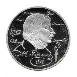 Silbermünze 2 Rubel Russland Schriftsteller Gógol Jahr 1994 Polierte Platte PP | Sammlermünzen - Alotcoins