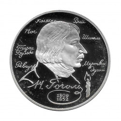 Silver Coin 2 Rubles Russia Gógol Writer Year 1994 Proof | Numismatic Shop - Alotcoins