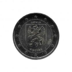 Moneda 2 Euros Conmemorativa Letonia Vidzeme Año 2016 Sin circular SC | Monedas de colección - Alotcoins