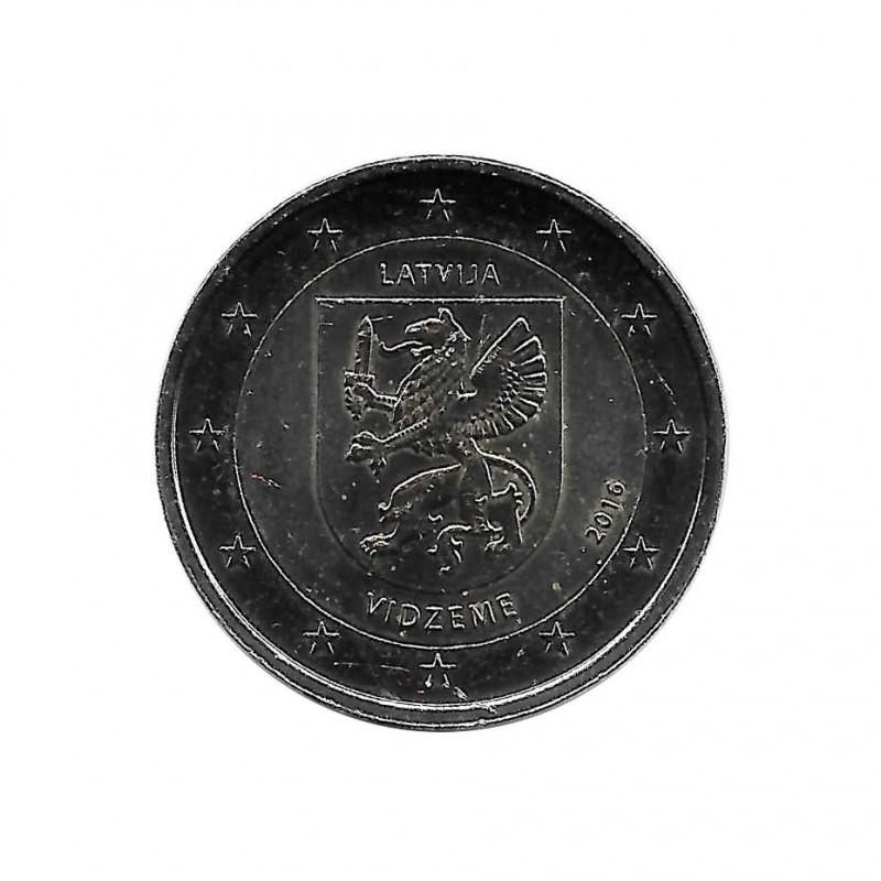 Euromünze 2 Euro Lettland Vidzeme Jahr 2016 Unzirkuliert UNZ | Gedenkmünzen Sammlermünzen Numismatik shop - Alotcoins