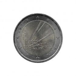 Gedenkmünze 2 Euro Portugal Präsidentschaft EU Jahr 2021 Unzirkuliert UNZ | Euromünzen - Alotcoins
