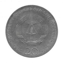 Silbermünze 20 Mark Deutschland DDR Gottfried Jahr 1966 | Numismatik Store - Alotcoins