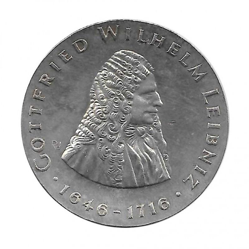 Silbermünze 20 Mark Deutschland DDR Gottfried Jahr 1966 | Sammlermünzen Shop - Alotcoins