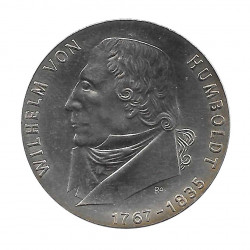 Silver Coin 20 Mark Germany GDR Wilhelm von Humboldt Year 1967 | Collectible Coins - Alotcoins