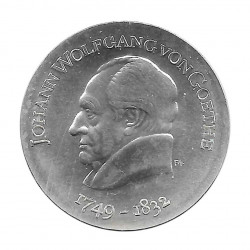 Silbermünze 20 Mark Deutschland DDR Johann Goethe Jahr 1969 | Sammlermünzen Shop - Alotcoins