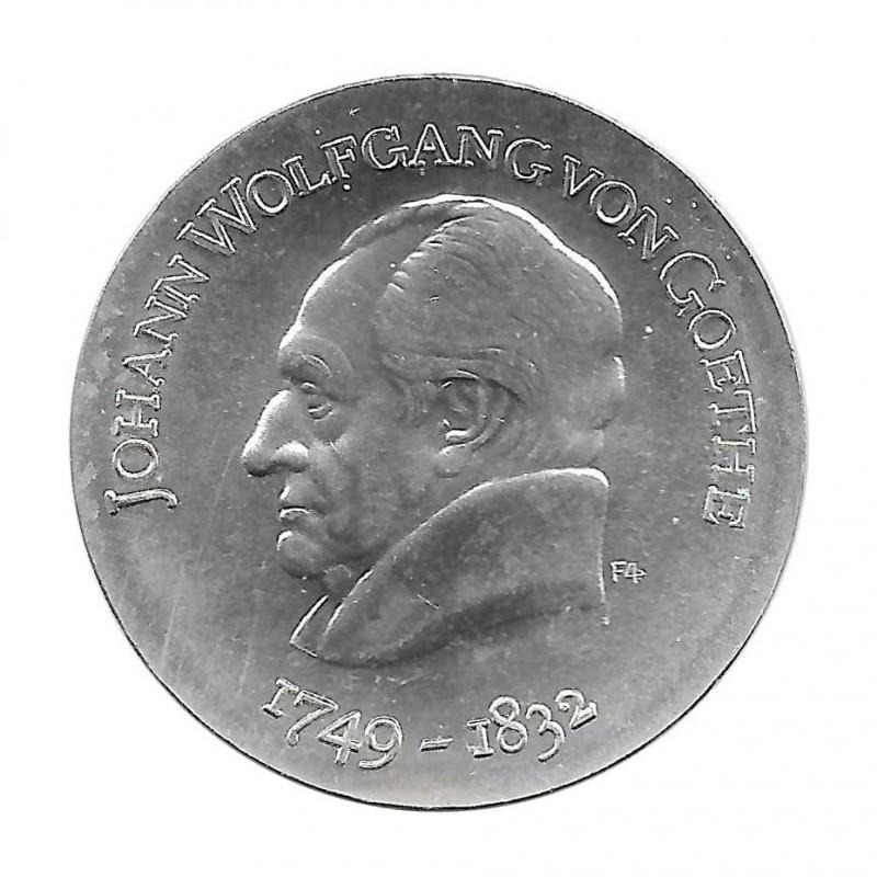 Silver Coin 20 Mark Germany GDR Johann Goethe Year 1969 | Collectible Coins - Alotcoins