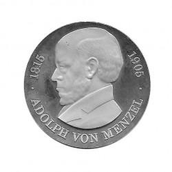 Moneda de plata 5 Marcos Alemania DDR Adolfo de Menzel Año 1980 Proof | Monedas de colección - Alotcoins