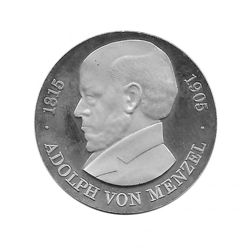 Coin 5 Mark Germany GDR Adolph von Menzel Year 1980 Proof | Collectible Coins - Alotcoins
