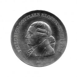 Moneda de plata 5 Marcos Alemania DDR Gottlieb Año 1978 Proof | Monedas de colección - Alotcoins