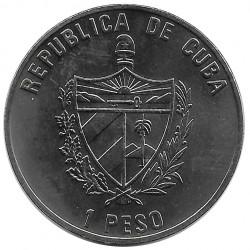 Coin 1 Peso Cuba Iberian Lynx Year 2004 Uncirculated UNC | Collectible coins - Alotcoins