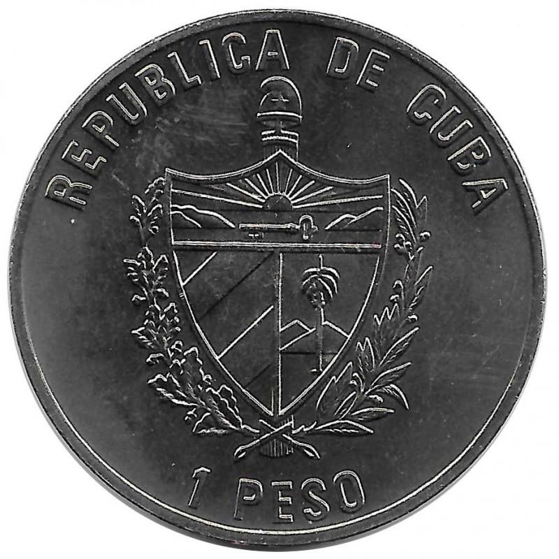 Moneda Cuba 1 Peso Lince Ibérico Año 2004 Sin circular SC | Tienda de Numismática - Alotcoins