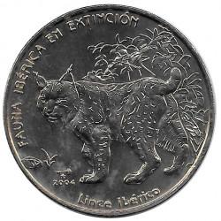 Moneda Cuba 1 Peso Lince Ibérico Año 2004 Sin circular SC | Monedas de colección - Alotcoins