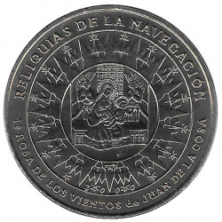 Coin Cuba 1 Peso Rose of the Winds Year 2000 Uncirculated UNC | Numismatic Store - Alotcoins