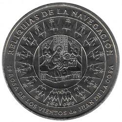 Moneda Cuba 1 Peso Rosa de los Vientos Año 2000 Sin circular SC | Monedas de colección - Alotcoins
