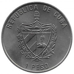 Coin Cuba 1 Peso Rose of the Winds Year 2000 Uncirculated UNC | Collectible Coins - Alotcoins