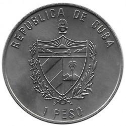 Moneda Cuba 1 Peso Rosa de los Vientos Año 2000 Sin circular SC   Tienda de Numismática - Alotcoins