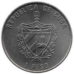 Moneda Cuba 1 Peso Ambulancia Marítima Buenaventura Año 2000 Sin circular SC | Tienda de Numismática - Alotcoins