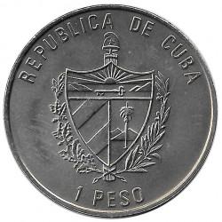 Coin Cuba 1 Peso Imperial Eagle Year 2004 Uncirculated UNC | Collectible Coins - Alotcoins