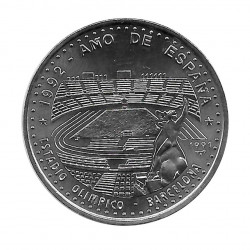 Coin Cuba 1 Peso Barcelona Olympic Stadium Year 1991 Uncirculated UNC | Numismatic Store - Alotcoins