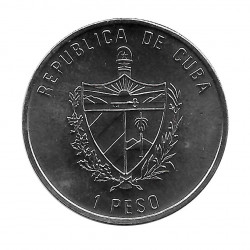 Gedenkmünze Kuba 1 Peso Olympiastadion von Barcelona Jahr 1991 Unzirkuliert UNZ | Numismatik Shop - Alotcoins