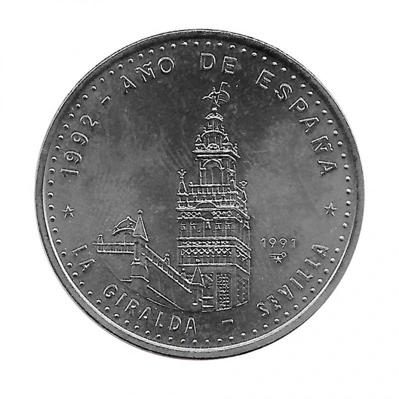 Gedenkmünze Kuba 1 Peso Die Giralda Sevilla Jahr 1991 Unzirkuliert UNZ | Sammlermünzen - Alotcoins