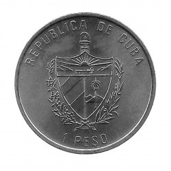 Coin Cuba 1 Peso The Giralda Seville Year 1991 Uncirculated UNC | Collectible Coins - Alotcoins