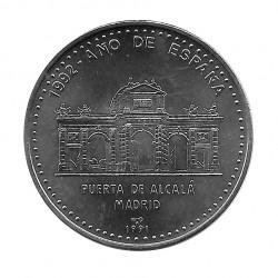 Coin Cuba 1 Peso Puerta Alcala Madrid Year 1991 Uncirculated UNC | Numismatic Store - Alotcoins