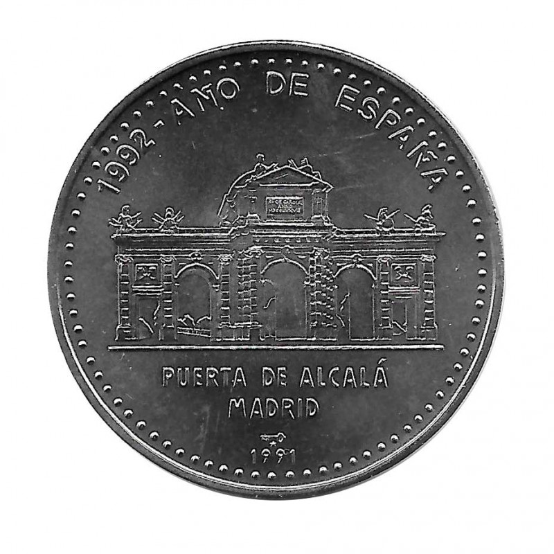 Moneda Cuba 1 Peso Puerta de Alcalá Madrid Año 1991 Sin circular SC | Monedas de colección - Alotcoins