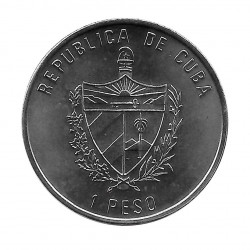 Gedenkmünze Kuba 1 Peso Puerta Alcala Madrid Jahr 1991 Unzirkuliert UNZ | Numismatik Shop - Alotcoins