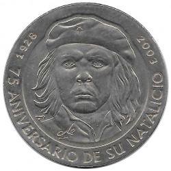 Coin 1 Peso Cuba Che Guevara 75th Anniversary Year 2003 Uncirculated UNC | Collectible Coins - Alotcoins