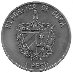 Moneda Cuba 1 Peso Ché Guevara Cuba 75º Aniversario Natalicio Año 2003 Sin circular SC   Monedas de colección - Alotcoins