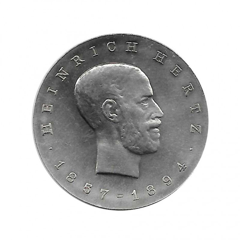Coin 5 Mark Germany GDR Heinrich Hertz Year 1969 Uncirculated UNC   Collectible Coins - Alotcoins