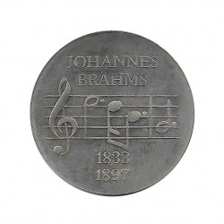 Coin 5 German Marks GDR Johannes Brahms Year 1972 | Collectible Coins - Alotcoins