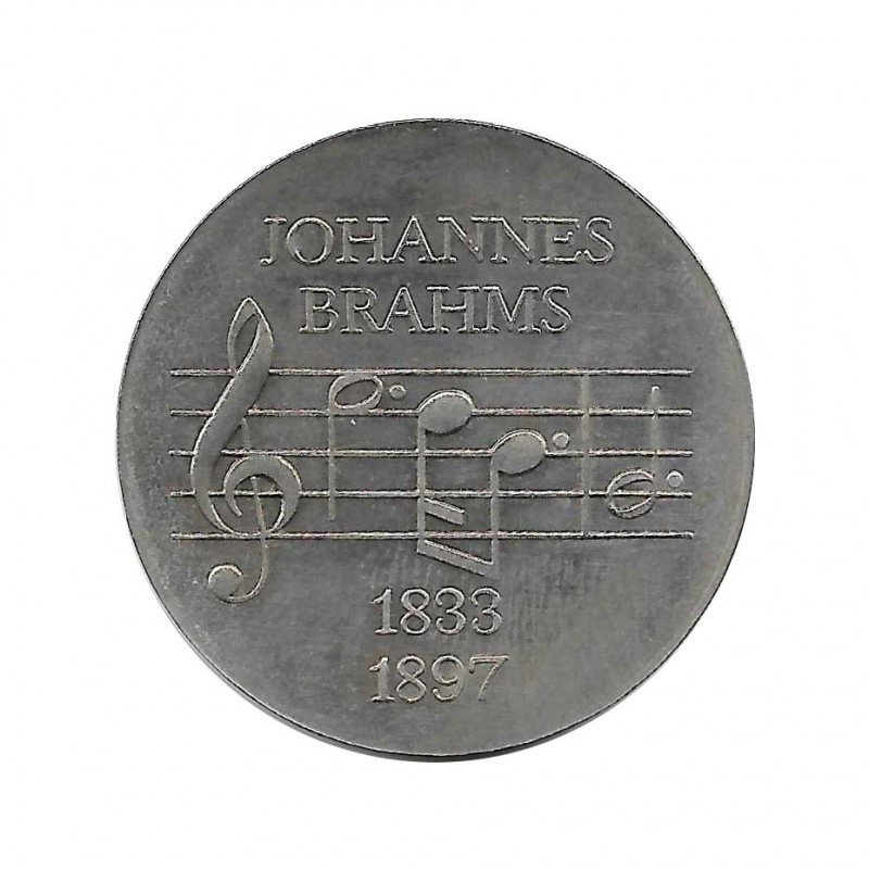 Coin 5 German Marks GDR Johannes Brahms Year 1972   Collectible Coins - Alotcoins