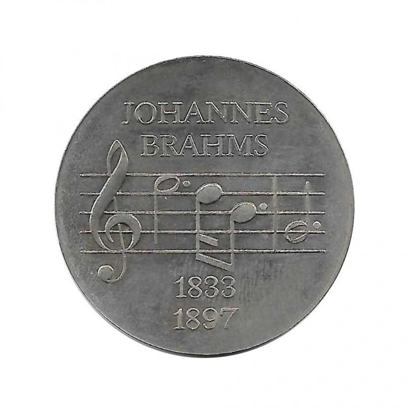 Gedenkmünze 5 Deutsche Mark DDR Johannes Brahms Jahr 1972   Gedenkmünzen - Alotcoins