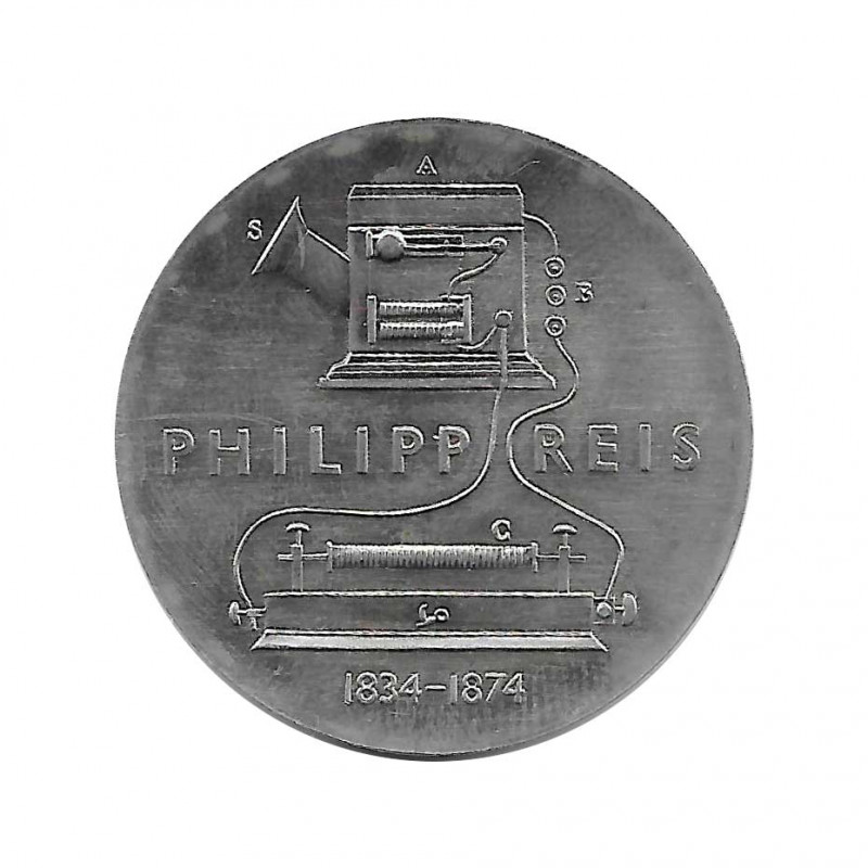 Coin 5 German Marks GDR Philipp Reis Year 1974 | Collectible Coins - Alotcoins