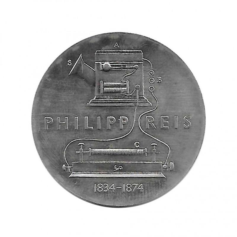 Gedenkmünze 5 Deutsche Mark DDR Philipp Reis Jahr 1974 | Gedenkmünzen - Alotcoins