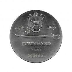 Gedenkmünze 5 Deutsche Mark DDR Ferdinand von Schill Jahr 1976 | Gedenkmünzen - Alotcoins