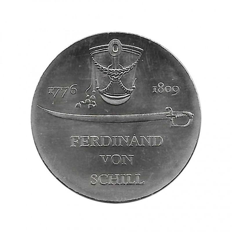 Coin 5 German Marks GDR Ferdinand von Schill Year 1976 | Collectible Coins - Alotcoins