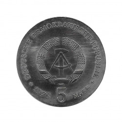 Gedenkmünze 5 Deutsche Mark DDR Ferdinand von Schill Jahr 1976   Numismatik Shop - Alotcoins