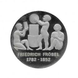 Moneda 5 Marcos Alemanes DDR Friedrich Froebel Año 1982 Proof | Moneda de colección - Alotcoins