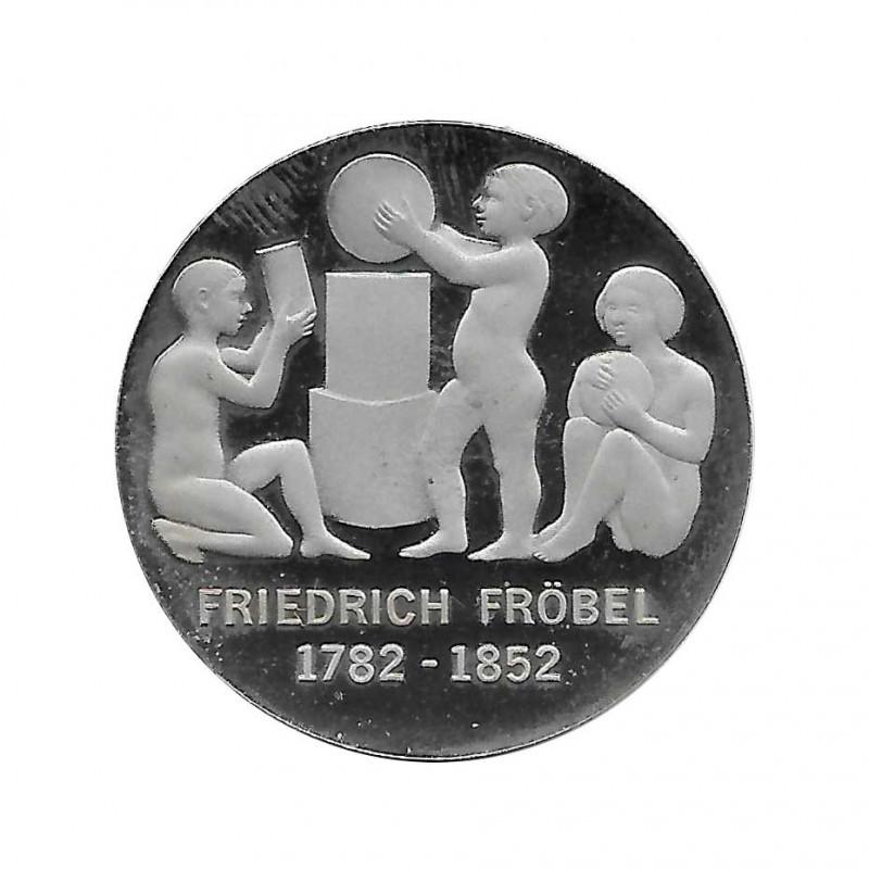 Gedenkmünze 5 Deutsche Mark DDR Friedrich Froebel Jahr 1982 Polierte Platte PP | Gedenkmünze - Alotcoins