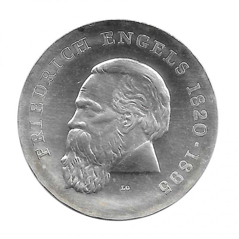 Silbermünze 20 Mark Deutsche Demokratische Republik DDR Friedrich Engels Jahr 1970   Numismatik shop - Alotcoins