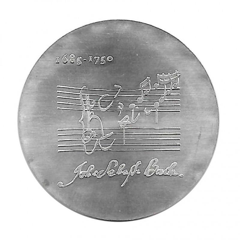 Silver Coin 20 Mark Democratic Germany Johann Sebastian Bach Year 1975   Numismatic shop - Alotcoins