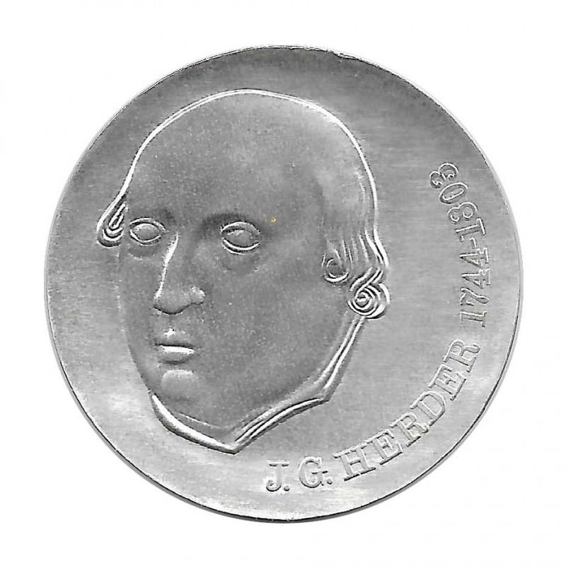 Moneda de plata 20 Marcos Alemania Democrática Johann Gottfried Herder Año 1978 | Monedas de colección - Alotcoins