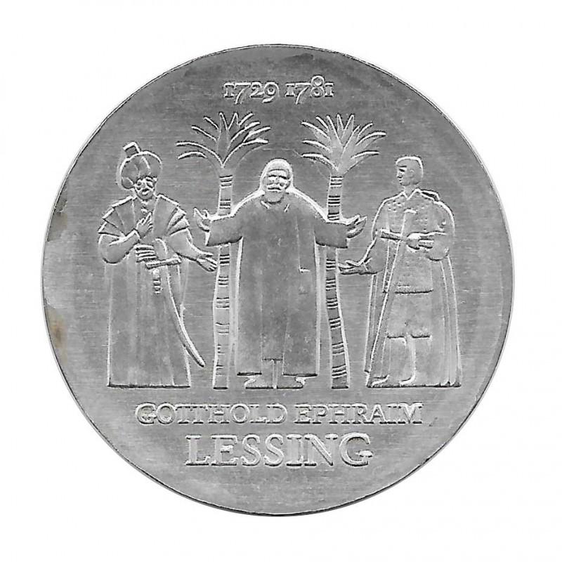 Moneda de plata 20 Marcos Alemania Democrática Gotthold Ephraim Lessing Año 1979 | Monedas de colección - Alotcoins