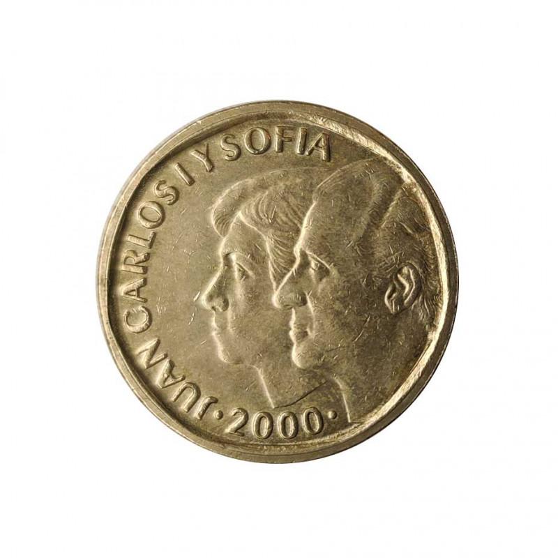 Moneda España 500 Pesetas Reyes Juan Carlos I y Sofia Año 2000 | Coleccionistas - Alotcoins